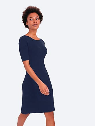 dd535d41ea Ministry of Supply 3D Print-Knit Sweater Dress - Navy size XS