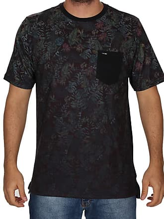 Wave Giant Camiseta Wg Floral Degrade - Preta - GG