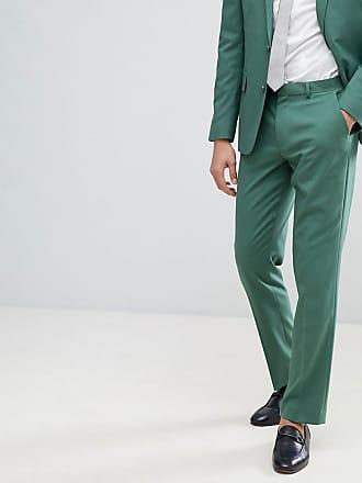 Asos wedding slim suit pants in pine green - Green