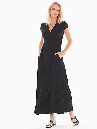 Soma Soft Jersey Sleeveless Maxi Dress Black, Size XXL
