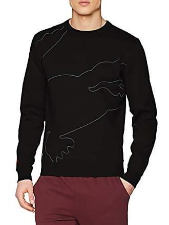 42d923ee4096 Lacoste Sport SH3499 Sweat-Shirt Homme Noir (Noir Graphite-Noir-Argent