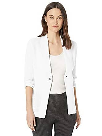 Nic+Zoe Womens ONE for All Jacket, Paper White, Large