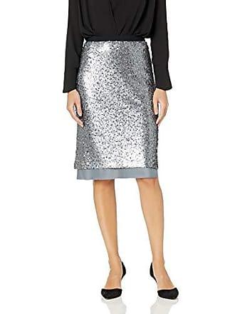 Nic+Zoe Womens Twinkle Night Skirt, Bluestone, 2