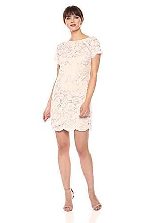Vince Camuto Womens Lace Shift Dress, Blush 10