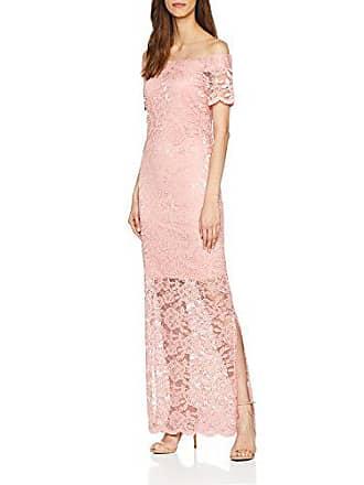 d85e97b06ce Vila Clothes Vizally Off Shoulder Maxi Dress DC Robe Bridal Rose