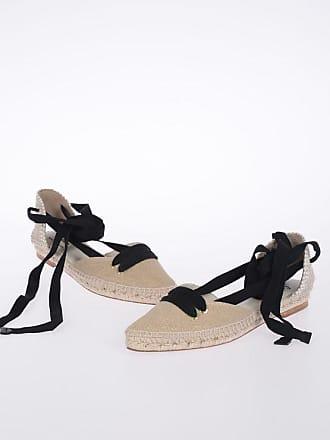 9cef4ebc Castaner MANOLO BLAHNIK Lace Up Ballet Flats size 39