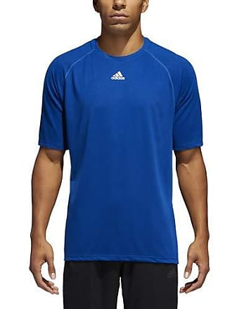 6ffee2e72bd adidas Mens Short Sleeve Climalite Tee Shirt, Collegiate Royal, XSTP