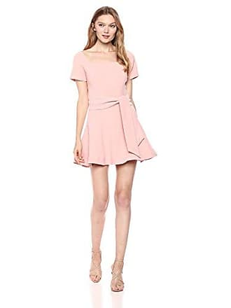 0b4fcbddb1d4 Finders Keepers Womens VICE Short SLEEE FIT and FLAIRE Mini Dress with  Waist, Petal,