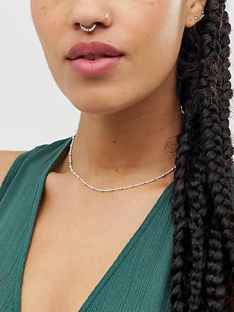 Kingsley Ryan sterling silver delicate chain choker necklace