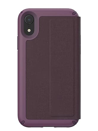 SPECK Heathered Veronica/Vintage Purple Presidio Folio iPhone XR Case