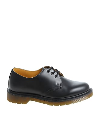 Dr. Martens 1461 PW Smooth black derby shoes