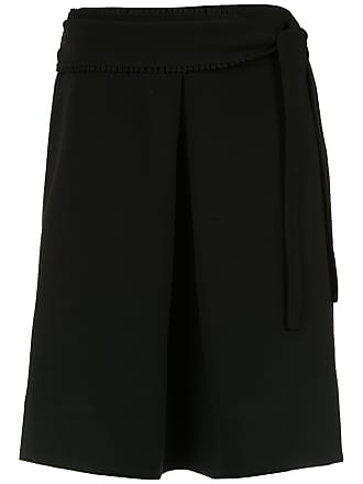 OLYMPIAH Rosello belted skirt - Black