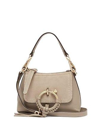 See By Chloé Joan Mini Leather Cross Body Bag - Womens - Grey