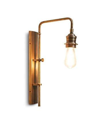 PIB Adjustable wall lamp in Lerwick brass