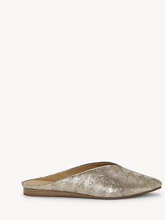3a3e19e6534 Lucky Brand Womens Barbora Flats Mules Platinum Size 11 Suede From Sole  Society