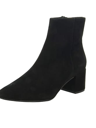 8770bf157603 Högl 6-104912 Publicity Stylish Ankle Boots in Black Suede 4 Black SUED