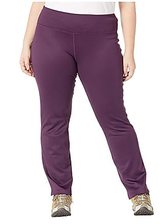48fa6872acb White Sierra Plus Size Power Pants (Deep Purple) Womens Casual Pants