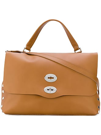 Zanellato fold over tote bag - Brown