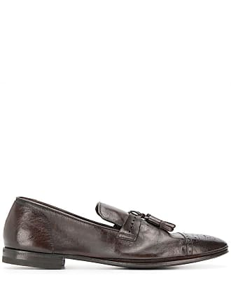 Henderson Baracco brown tassel loafers - Marrom