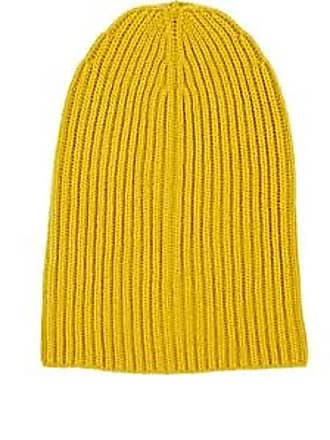 Barneys New York Womens Cashmere Beanie - Mustard ca610b7367