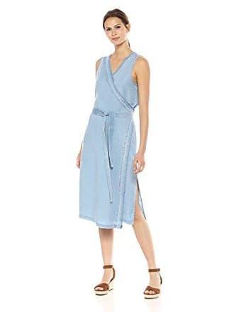d4205f5b13 NYDJ Womens Wrap Dress with Release Hem