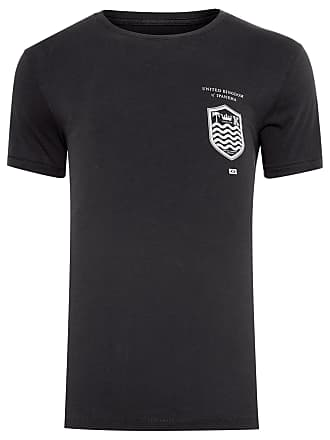 Osklen T-SHIRT MASCULINA SOFT USED PASSPORT - PRETO