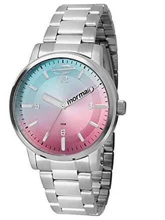 Mormaii Relógio Feminino Mormaii Maui Prata - Mo2035cm/3a