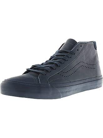 616a330444b1 Vans Court Mid Dx Leather Midnight Navy Ankle-High Canvas Skateboarding Shoe  - 6M