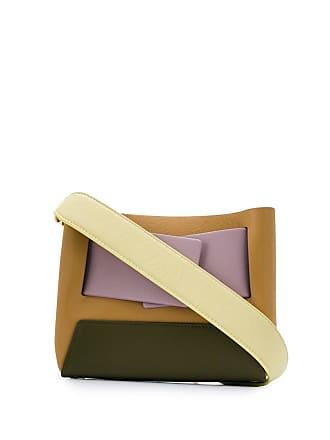 Yuzefi Bolsa tiracolo color block - Neutro