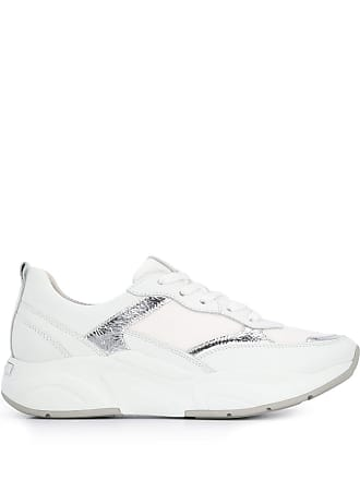 Kennel & Schmenger metallic appliqué sneakers - Branco