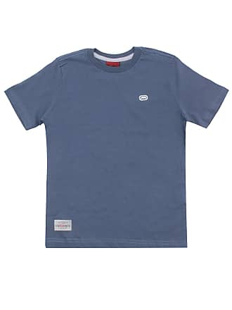 Ecko Camiseta Ecko Menino Lisa Azul