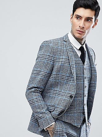 Heart   Dagger Veste de costume ajustée en tweed Harris à ... 90be0a5cc68