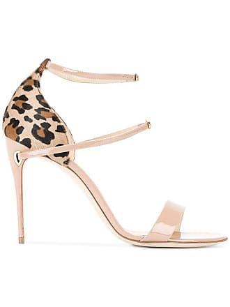 ab9e1ac4315b Jennifer Chamandi Nude Leopard Rolando 105 Sandals - Brown