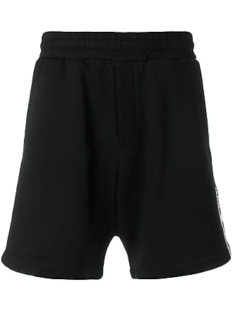 McQ by Alexander McQueen logo band shorts - Black