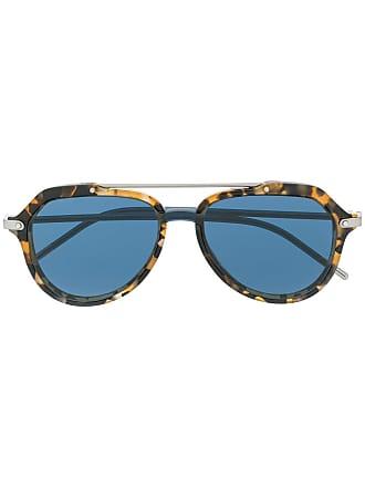 Dolce & Gabbana Eyewear Óculos de sol aviador - Azul