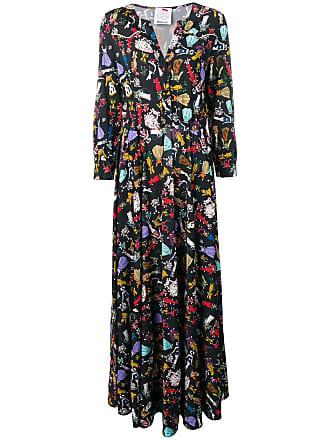 Ultra Chic Cowgirl printed maxi dress - Black