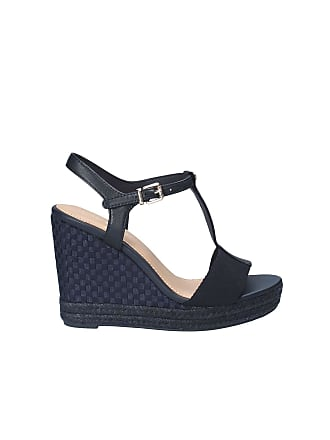 fba9aadf5725f Tommy Hilfiger FW0FW02249 Wedge Sandals Women Blue 41