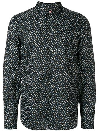 Paul Smith Camiseta com estampa floral - Preto