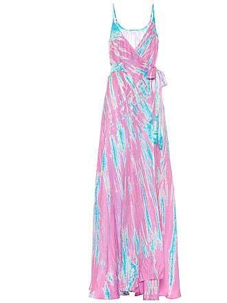 Anna Kosturova Exclusive to Mytheresa - tie-dye silk maxi dress