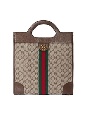 4667dc12dfc Gucci Ophidia GG medium top handle tote - Brown