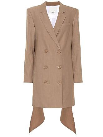Tibi Linen and cotton-blend blazer