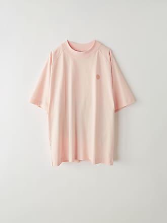 Acne Studios Bassetty Uni Blossom pink Oversized t-shirt
