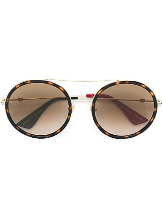 b5300fdf17e Gucci round sunglasses - Brown