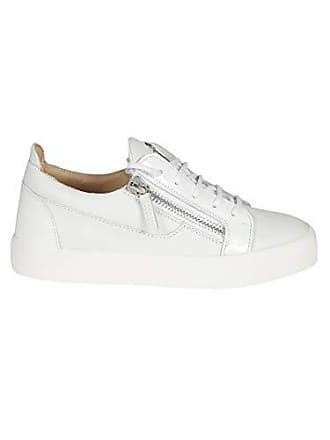 e10a1e3ef1cf4d Giuseppe Zanotti Design Damen Rw70001074 Weiss Leder Sneakers