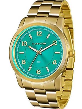 Lince Relógio Lince Feminino Ref: Lrgj066l A2kx Casual Dourado