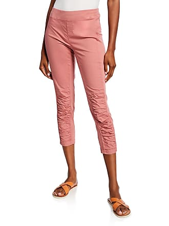 Xcvi Jetter Ruched Cropped Leggings