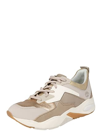 ce20e38e555 Timberland Sneakers laag Delphiville cappuccino / lichtbruin / goud