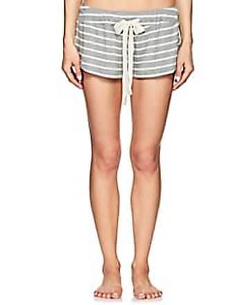 Eberjey Womens Lounge Striped Drawstring Shorts - Gray Str. Size S ce09c55e2
