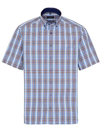 c982b137f6c Eterna chemise à manches courtes comfort fit popeline bleu clair à