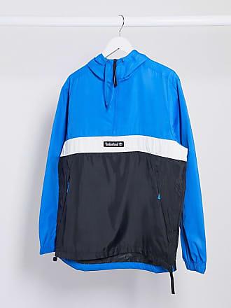 Timberland funnel neck pullover jacket-Blue